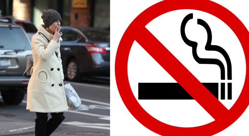 남의 폐에도 민폐 끼치는 '보행 중 담배 피우기' 금지법 발의