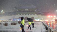 눈 쌓인 출근길, 미끄러운 도로…서울 예상 적설량 1∼3㎝