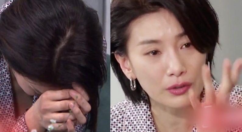 차기작 얘기에 '눈물 펑펑 쏟은' 쓰앵님 김서형, 속 마음 고백