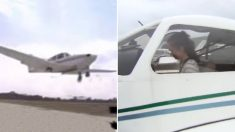 17세 소녀 파일럿 '한 쪽 바퀴 없이 착륙' 아찔한 실제 교신 음성