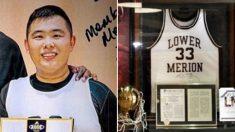 못 찾는줄 알았던 NBA 스타 코비의 고교시절 유니폼을 기부한 팬