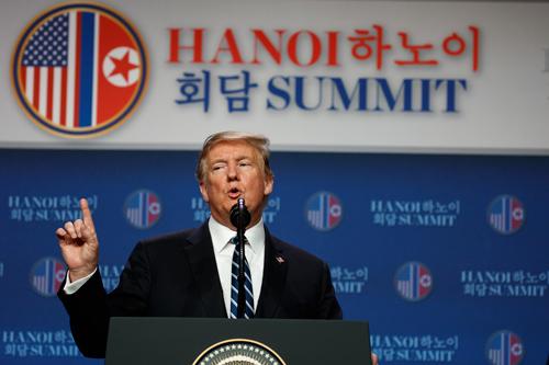 """美정치권, '핵담판 결렬' 트럼프 결정에 """"나쁜 합의보단 낫다"""""""