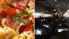 악천후로 비행기에 갇혀 있던 승객에게 뜻밖에 피자 선물한 '기장'…승객들 마음도 '스르르'