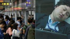 """""""지하철에서 앉아서 조는 거 싫다"""" 격렬한 논쟁 일으킨 커뮤니티 게시물"""