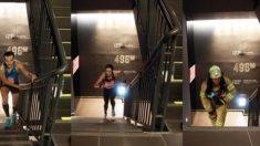 세계인 1천600명 롯데월드타워 123층까지 달렸다