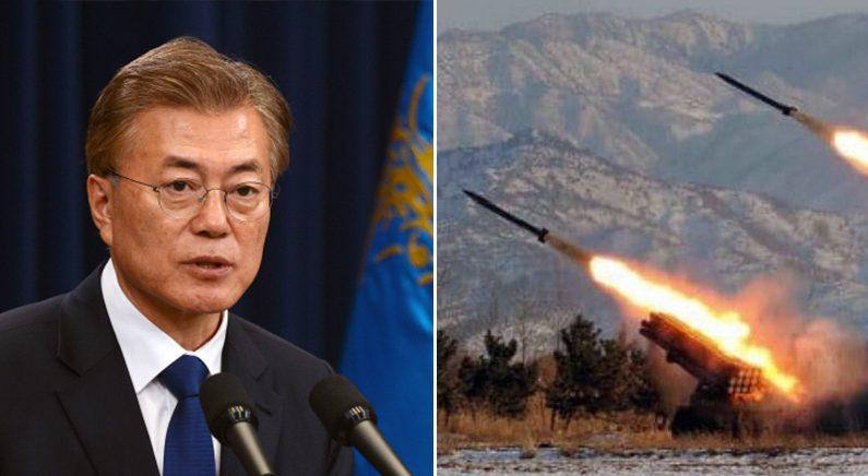 """정부 """"미사일 발사에도 북한 식량 지원 계획은 변함없다"""""""