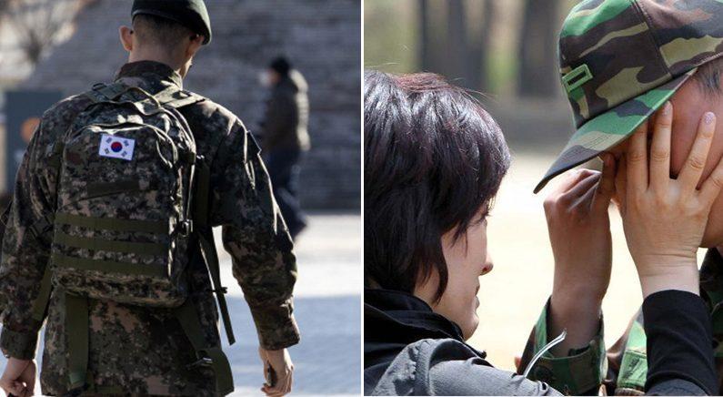 대학 포기하고 알바로 여동생 등록금 벌어주다가 '말 없이 혼자 군대 간 아들'