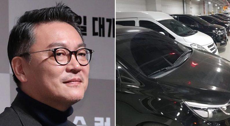 장애인 주차 위반 차량에 '신고조치' 으름장 놓은 배우 김의성