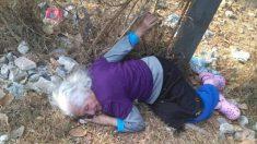 '치매 할머니'가 쓰레기장에서 잠든 채로 발견됐다