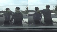고속도로서 '난폭 운전'하다 상대방 잘못 만난 20대 운전자의 최후 (영상)