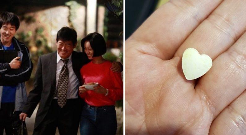 애정표현 서툰 상남자 아빠가 외식 후 엄마에게만 준 사탕