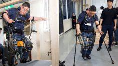 '하반신 마비' 남성 걸을 수 있도록 '로봇 슈트' 개발한 카이스트 연구진