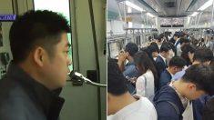 지친 시민들 가슴 뭉클하게 만든 지하철 기관사의 안내 방송 (영상)
