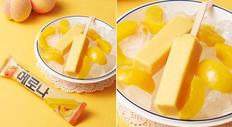 내일(4일) 한 입 먹는 순간 달콤한 과즙 터지는 '황도 메로나' 출시