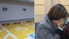 주차장에서 발견된 '쪽지'가 장애 아동 부모를 눈물 쏟게 만들었다