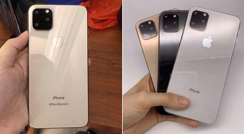 올가을 출시되는 아이폰11 후면 이미지가 공개됐다