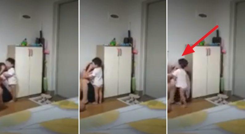 베트남 엄마 때리는 아빠 막아서다 주먹 대신 맞은 두 살배기 아기