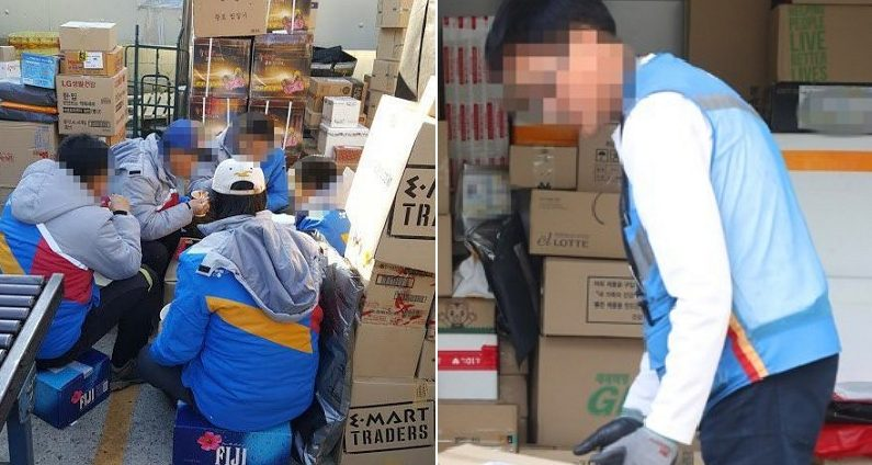"""택배 기사들이 """"8월 16일을 '택배 없는 날'로 해달라""""고 호소한 이유"""