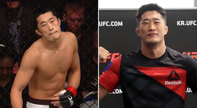 UFC 김동현이 자신을 꺾은 후 승승장구하는 선수에게 남긴 댓글