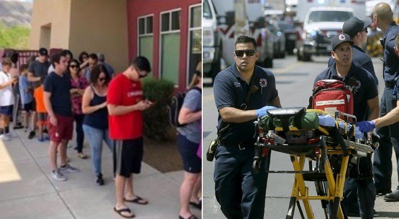 총기난사 피해자 위해 '긴급 헌혈' 필요하다고 공지하자 기적이 일어났다