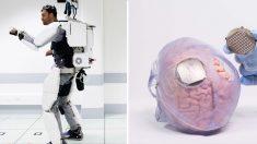 佛 전신마비 환자, '뇌파+로봇 슈트'로 걷기 성공