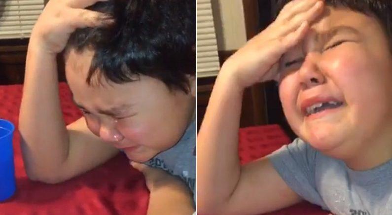3년 만에 '암 완치'됐다는 말 듣고 너무 기뻐 눈물 흘린 9살 소년 (영상)