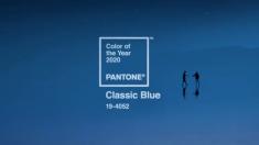 팬톤이 선정한 2020년 올해의 색상은 '클래식 블루'다