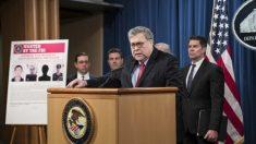 美법무부, 미국인 1억4500만명 개인정보 유출 혐의로 中장교 4명 기소
