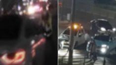 경찰관 치고 도주하는 '음주 뺑소니 차량', 참다못한 견인차 형님들이 출동했다