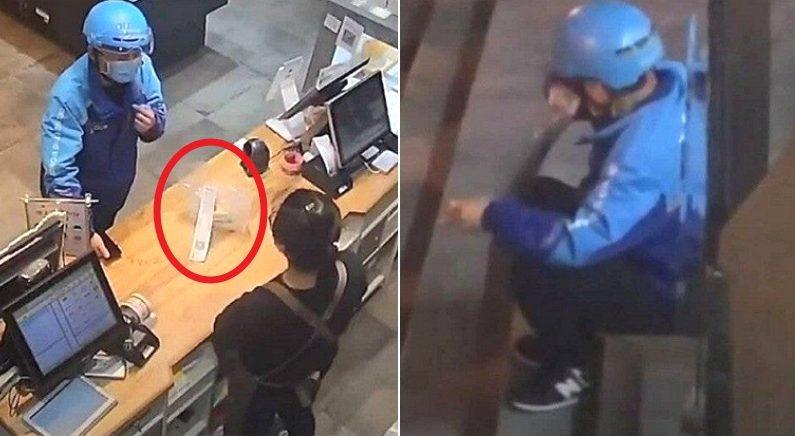 생일에 밤늦게까지 일하던 배달원은 '케이크 배달' 주문을 받고 눈물을 훔쳤다