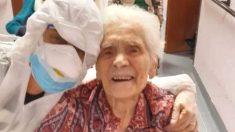 스페인 독감 이겨냈던 104세 할머니가 이번에도 '완치 판정'을 받았다