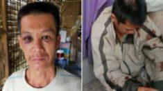 굶주린 자식들 위해 쌀 5kg 훔치다 두들겨 맞은 아버지의 얼굴