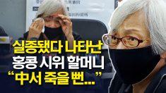 돌연 실종됐다 14개월만에 나타난 홍콩 시위 할머니