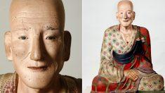 """""""보존상태 완벽하다"""" 실존 인물 모델로 만들었다는 1100년 전 한국의 조각상"""