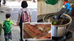 피자 먹고 싶다는 아들 말에 가난한 엄마가 냄비에 끓여준 '피자 국'