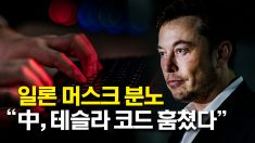 """일론 머스크 """"중국 업체, 테슬라 소스 코드 훔쳤다"""""""
