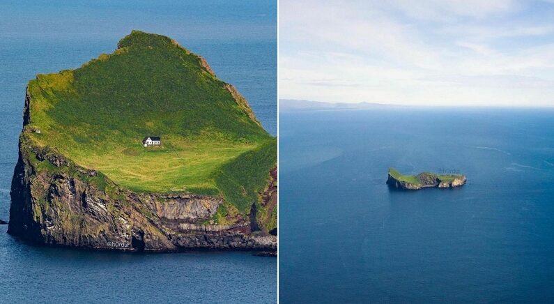 """""""여기서 살 수 있다? 없다?"""" 진짜로 존재하는 세계에서 가장 '외로운 집'"""
