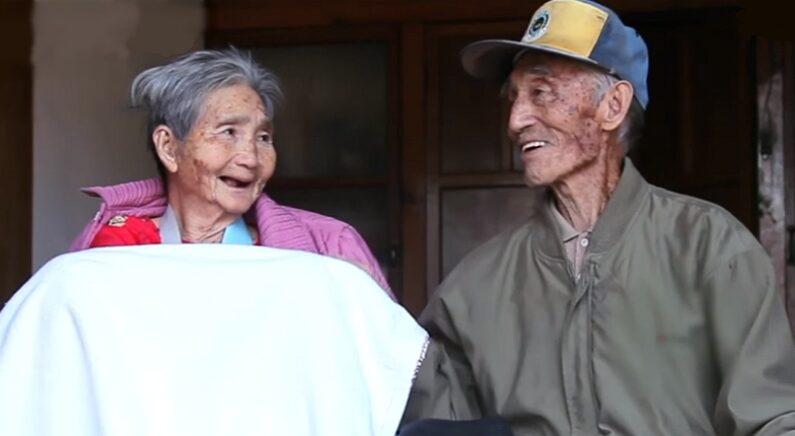 """""""당신만 있다면…"""" 70년 넘게 함께 산 노부부가 서로에게 전한 가슴 뭉클한 진심"""