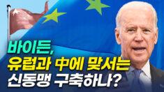 美 바이든 행정부, 유럽과 함께 중국에 맞설 수 있나?