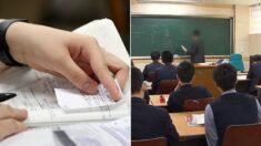 화학 선생님이 고등학생들이 열심히 해온 숙제에 모두 '0점'을 준 이유
