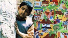 가족을 위해 수많은 일을 하시는 어머니의 '하루'를 담은 14살 소년의 그림