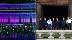 한복 입고 경복궁에서 펼친 무대 영상을 '5개국어' 자막으로 전세계에 알린 방탄소년단
