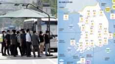 """""""서울 낮 기온 28도"""" 갑자기 너무 더워져서 어이없는 내일(21일) 전국 날씨"""