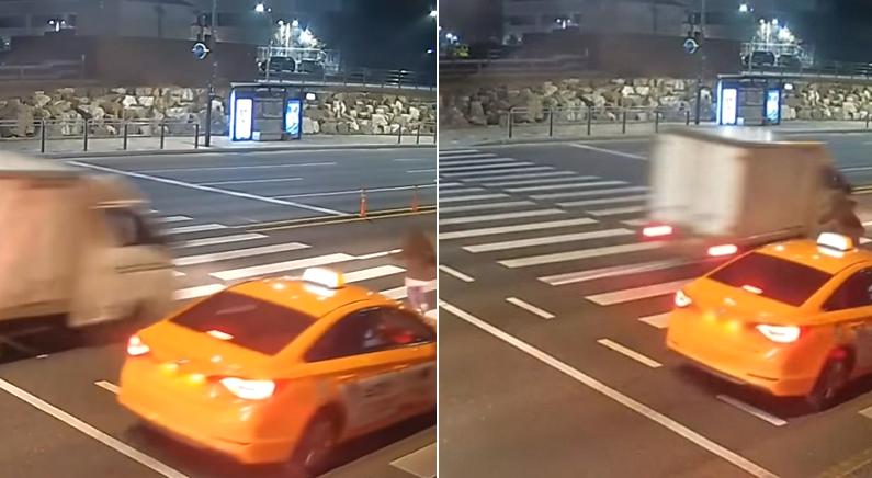 할머니 사망사고 낸 운전자가 영상 공개 원한 이유 (실제 영상)