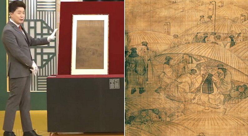 68년 만에 한국에 돌아온 김홍도의 숨겨진 '비밀 그림'이 최초로 공개됐다