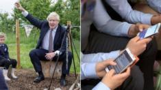"""영국 교육부 """"학교 내 학생들의 휴대전화 사용 '전면금지' 추진"""""""