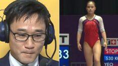 올림픽 국가대표된 2002년생 딸의 경기를 보는 아빠의 표정