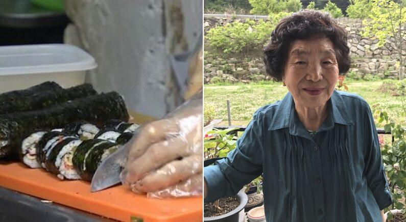 50년간 등산객들에게 김밥 팔아 모은 '6억 3천만원' 전부 기부한 90대 할머니