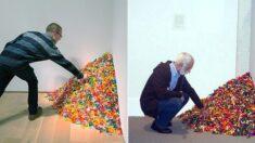 미술관 구석에 사탕 79.3kg 놔두고 관람객들이 마음대로 가져가게 한 화가의 사연